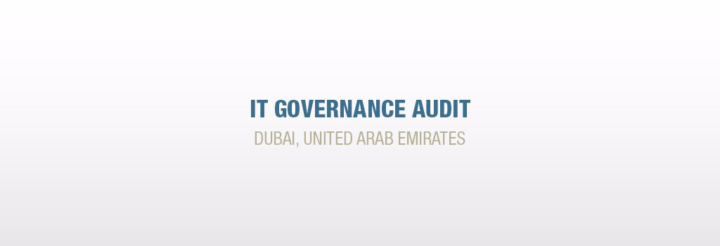 IT Governance Audit