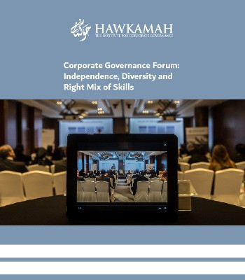 Corporate Governance Forum: Independence, Diversity and Right Mix of Skills